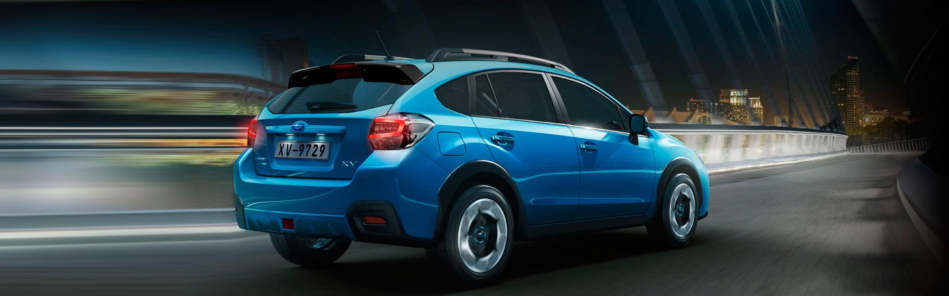 Запчасти на Subaru XV